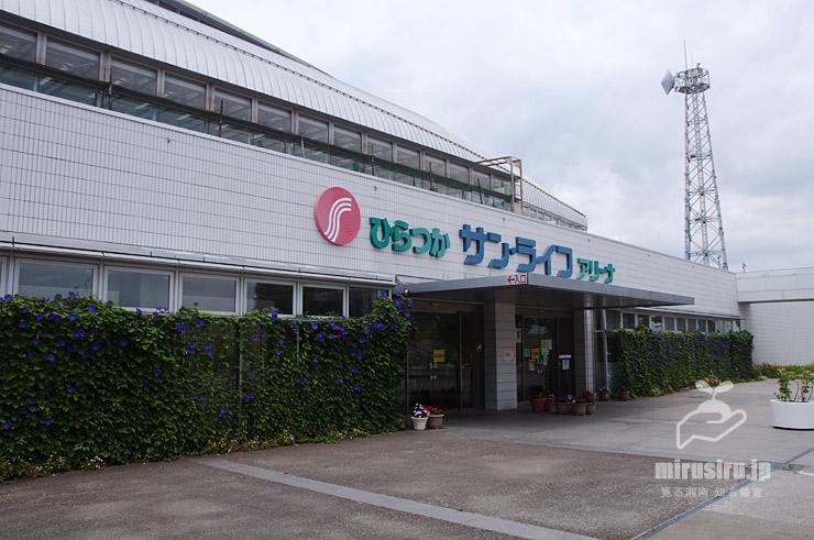 ノアサガオの緑のカーテン 平塚市・ひらつか アリーナ 2021/06/28